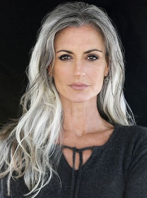 hairstyles for mid fortys 25 best ideas about long gray hair on pinterest gray