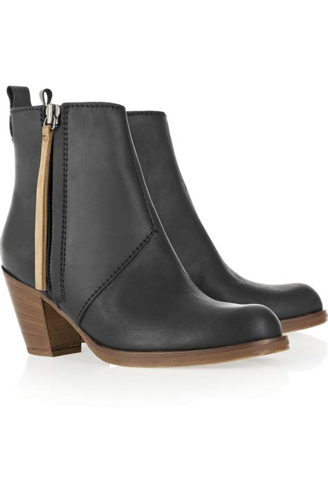 acne pistol boots 17 best images about ankle boots and what to wear on