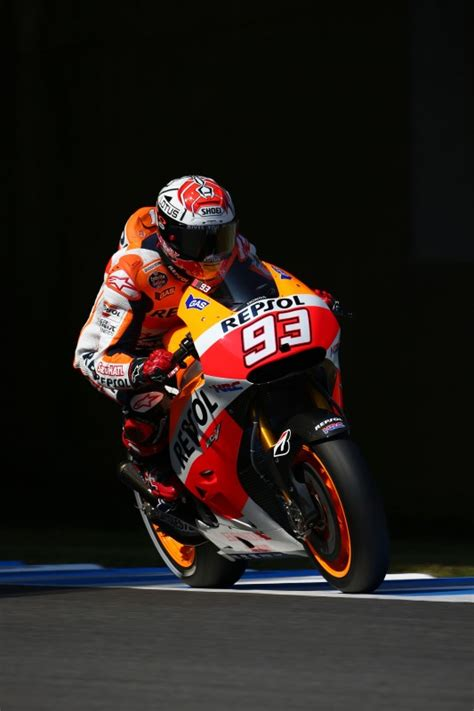 Helm Mm93 X14 By Lovelyn Motogp by Front Row Start For Pedrosa In 3rd With Marquez In 4th For