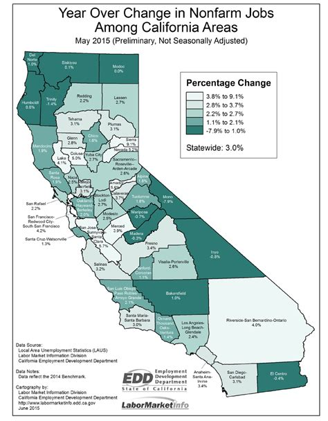 Cal State Mba Employment Stistica by May 2015 State And Metro Data Econtax