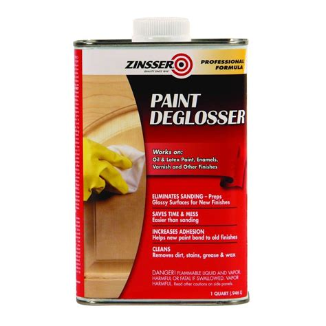 Zinsser 1 Qt Paint Deglosser 6 Pack 42124 The Home Depot