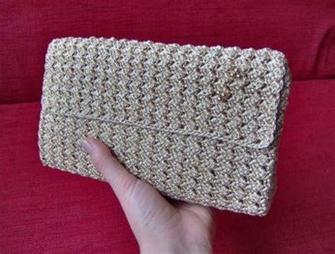 como hacer carteras tejidas a crochet 14 im 225 genes para la b 250 squeda hacer cartera de mano de