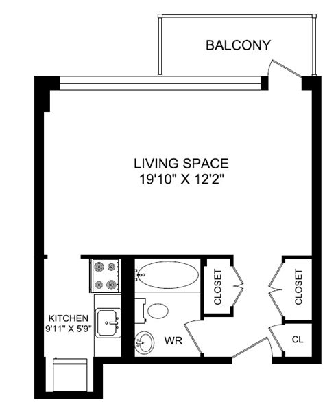 bachelor apartment floor plan garage efficiency apartment plans rachael edwards