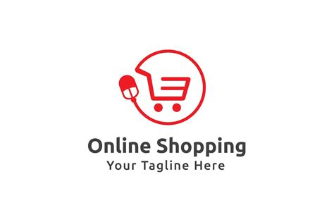 online shopping logo template logo templates creative