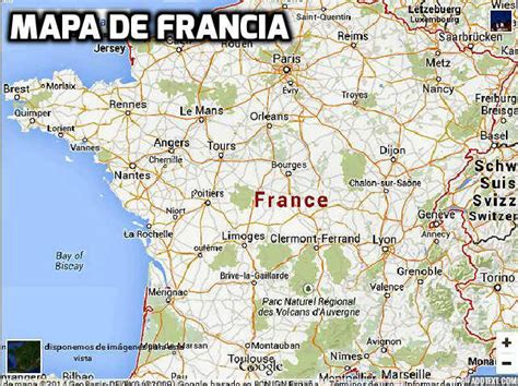 imagenes satelitales de francia mapa de francia departamentos y capitales