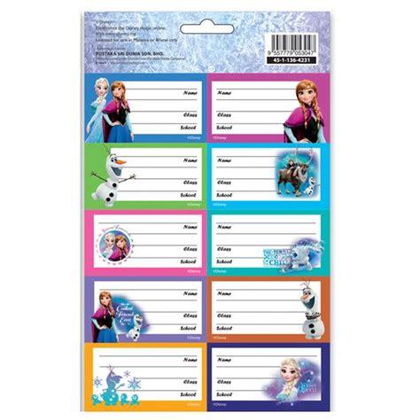 Name Sticker Books