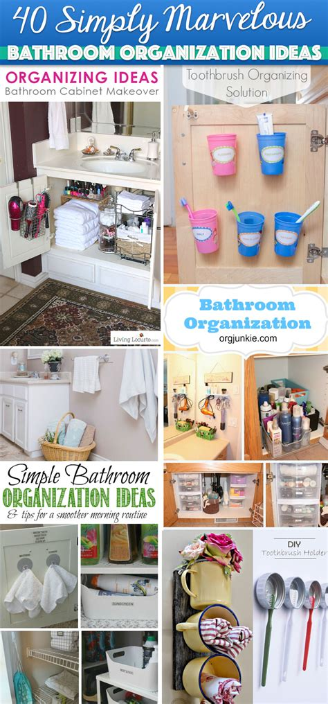 bathroom organization ideas 40 simply marvelous bathroom organization ideas to get rid
