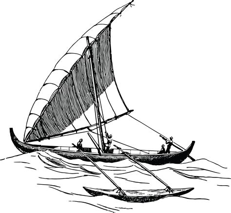 boat cleat drawing boat clip art black and white image download