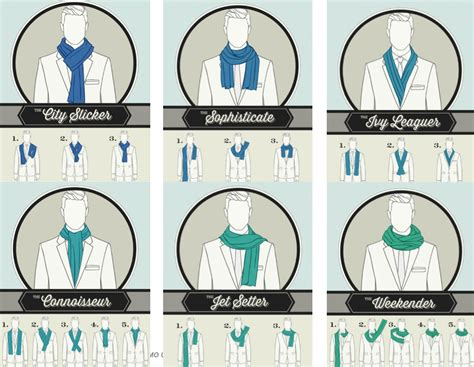 como usar la bufanda consejos de moda formas de ponerse una bufanda hombres