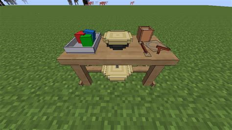 how to make a bench on minecraft decobench official feed the beast wiki