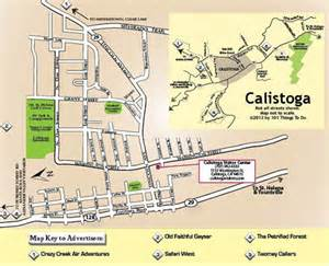 map of calistoga 101 things to do wine country