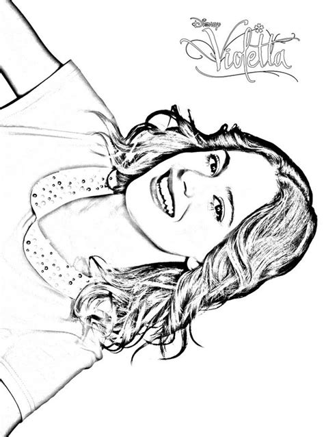 printable coloring pages violetta free violetta in concert coloring pages