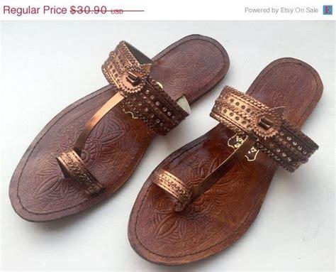 Sandal Wanita Sandal Flat Sandal Trendy Ab 053 Coklat 69 best images about kolhapuri on footwear leather and toe ring sandals