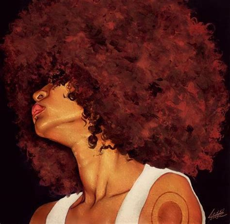 afro hairstyles tumblr dope art