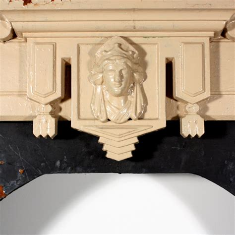 Ori Mantel antique figural fireplace mantel with woman s