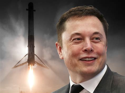 elon musk update spacex to re launch a used rocket for the first time on