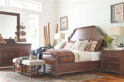 highline panel bedroom set rachael ray home by legacy upstate conciare panel bedroom set from rachael ray home