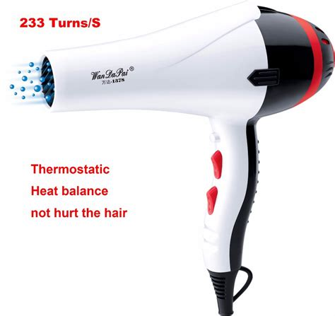 Hair Dryer Air Temperature professional 2200w dryer thermostatic ultra