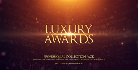 Luxury Awards By Jenivest Videohive After Effects Awards Template