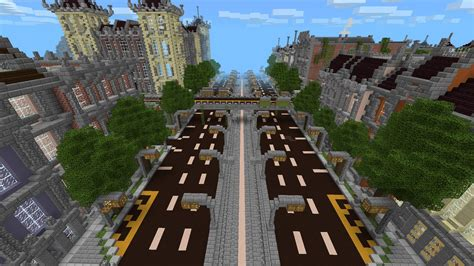 mcpe city maps 0 9 x new silverhills city the most detailed mcpe city
