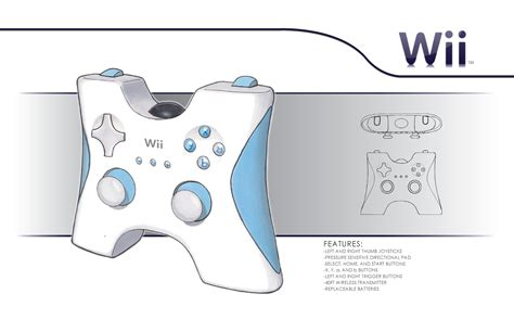 design wii game marker renderings by bryce moulton at coroflot com