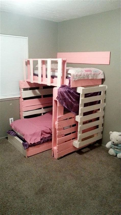 How To Make A Toddler Bed Out Of A Crib by Pallet Furniture 10 Ideas To Reuse Pallets 101 Pallets