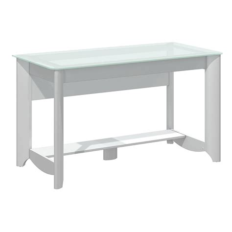 bush furniture aero writing desk bush furniture aero writing desk in white my16128 03