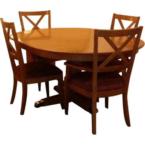 ethan allen table ethan allen elements dining table house stuff