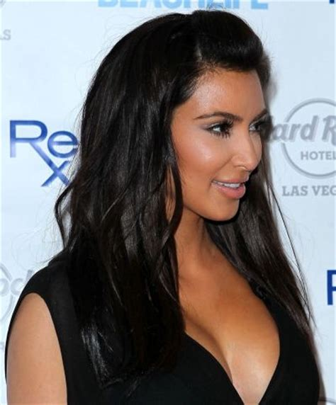 front poof hairstyles kim kardashians front poof hairstyle hair and beauty