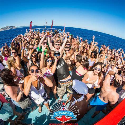 party boat ibiza oceanbeat ibiza boat party tickets playa d en bossa boat