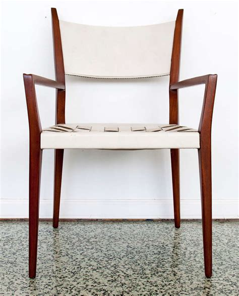 pair paul mccobb dining captain arm chairs at 1stdibs
