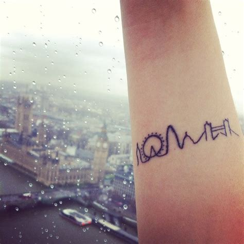 tattoo london eye 35 unique travel tattoos to fuel your eternal wanderlust