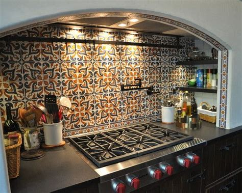 spanish tile kitchen backsplash spanish tile backsplash design pictures remodel decor