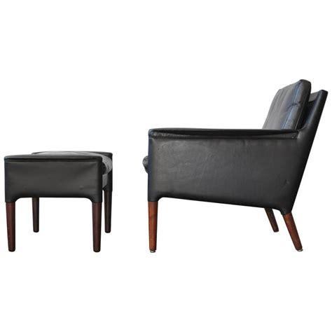 leather lounge chair and ottoman kurt 216 stervig leather lounge chair and ottoman for sale at