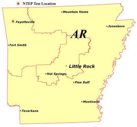 us map fayetteville arkansas national turfgrass evaluation program data for each state