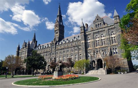 Georgetown Mba Ranking by Top 9 Colleges For An Degree In Washington Dc