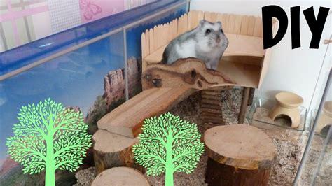 Tree House Hamster diy hamster treehouse