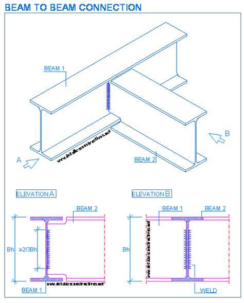 Drawing H Beam welded joints detallesconstructivos net typical