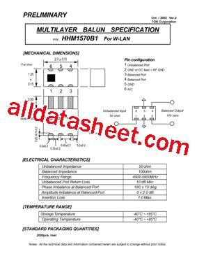 tdk capacitors datasheet hhm1570b1 datasheet pdf tdk electronics