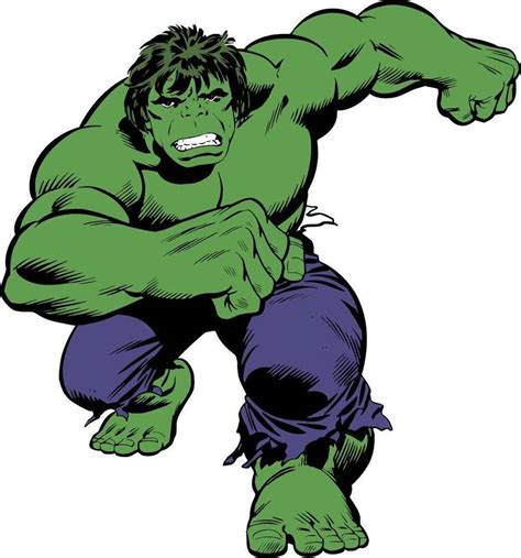 Marvel Comic Wall Mural the incredible hulk decal removable wall sticker art