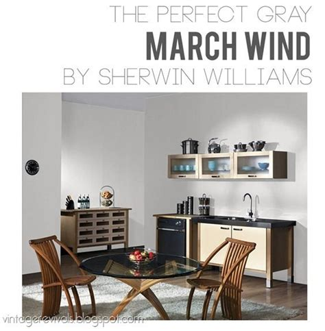 Best Paints For Kitchen Cabinets Perfect Gray Wall Color March Winds By Sherwin Williams