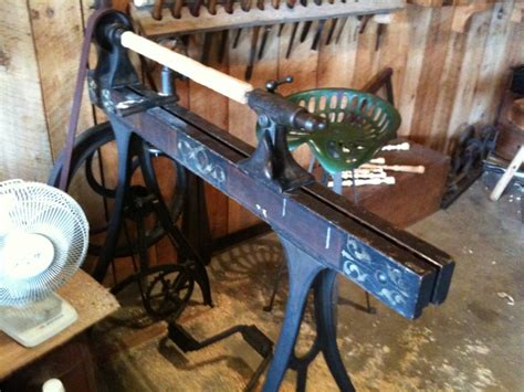 Victorian Pedal Lathe