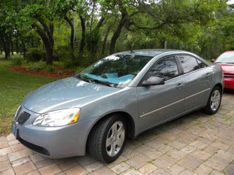 Tires For Pontiac G6 Sell Used 2009 Pontiac G6 Excellent 4 Door Auto New