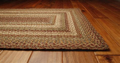 braided floor rugs harvest braided rug by green world homespice