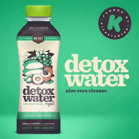 Detox Water With Aloe by Superleaf To Launch Detox Water Bevnet