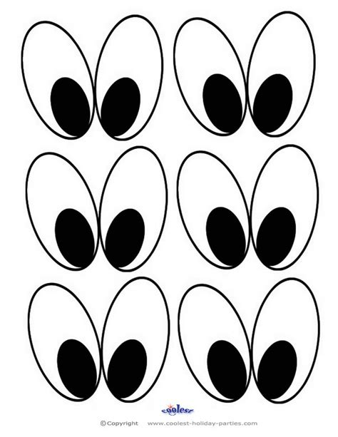 printable bunny eyes right click and save this halloween printable image onto