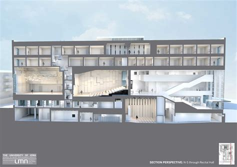Floor Plan Renderings Building Renderings Of Music College Of Liberal