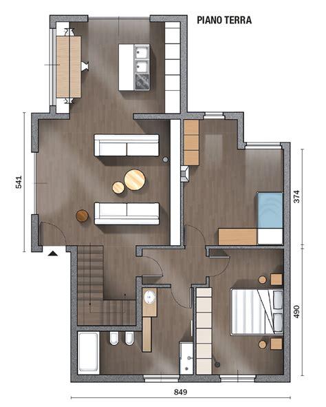casa piano terra 145 mq terra tetto i volumi a doppia altezza come in