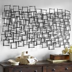 e home 174 metal wall wall decor square pattern