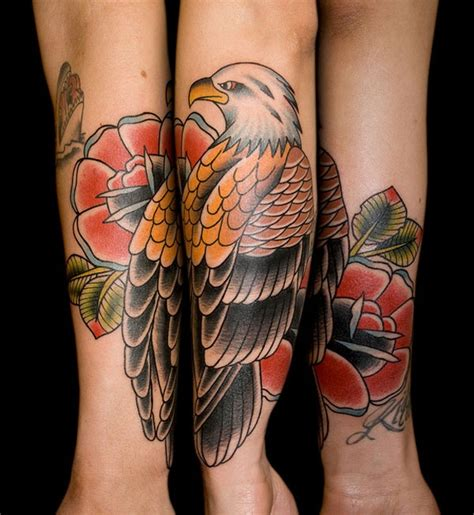 tattoo eagle rose 87 best eagle tattoos images on pinterest eagle tattoos